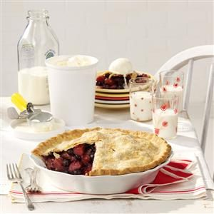 Bluebarb Pie Recipe