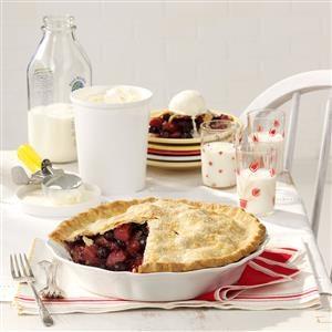 Bluebarb Pie Recipe