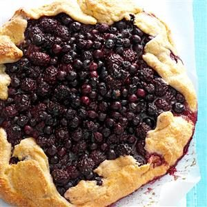Blueberry-Blackberry Rustic Tart