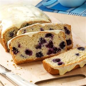 Blueberry Brunch Loaf Recipe