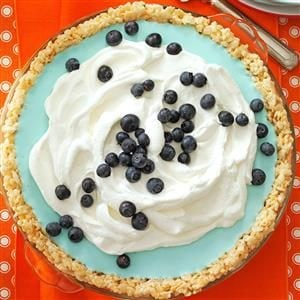 Blueberry Cloud Pie Recipe