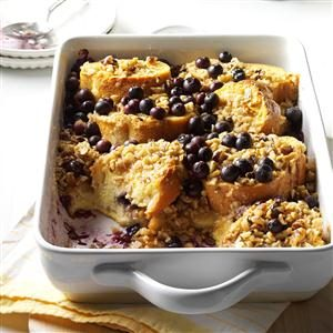 Blueberry Crunch Breakfast Bake Recipe