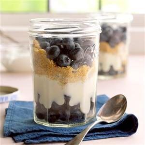 Blueberry Graham Dessert Recipe