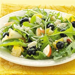 Blueberry Salsa Salad Recipe