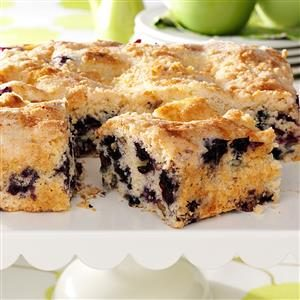 Blueberry Streusel Coffee Cake Recipe