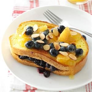 Blueberry-Stuffed French Toast Recipe
