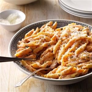 Blushing Penne Pasta Recipe