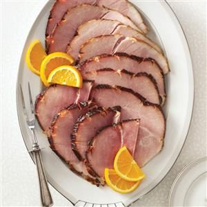 Bourbon-Glazed Ham Recipe