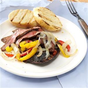 Bourbon Steak Portobellos Recipe