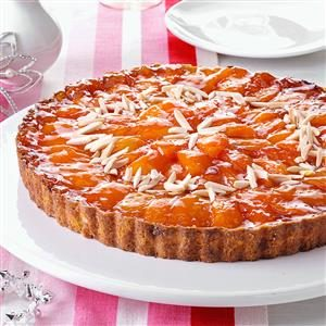 Brandied Apricot Tart Recipe
