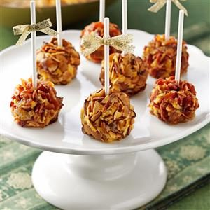 Brandy & Date Cheese Ball Pops Recipe