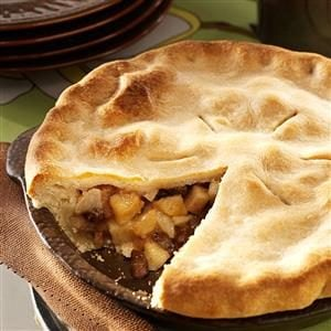 Brandy Pear Pie
