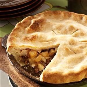 Brandy Pear Pie Recipe