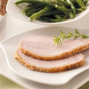 Breaded Pork Roast Recipe