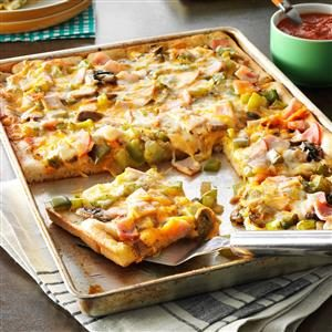 Breadstick Pizza Recipe