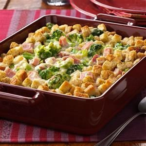 Broccoli Ham Bake Recipe