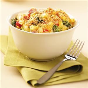 Broccoli-Ham Macaroni Recipe