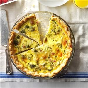 Broccoli Ham Quiche