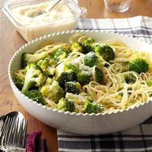 Broccoli-Pasta Side Dish Recipe
