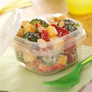 Broccoli Strawberry Salad Recipe