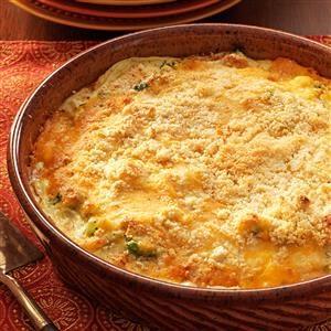 Broccoli Turkey Pie Recipe