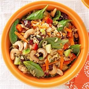 Brown Rice Chutney Salad Recipe