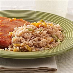 Brown Rice Pilaf Dish Recipe