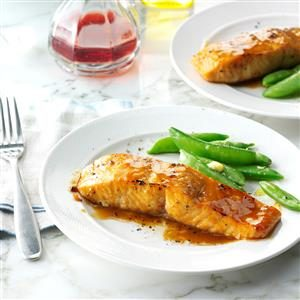 Brown Sugar-Glazed Salmon Recipe