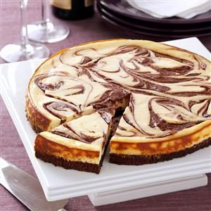 Brownie Swirl Cheesecake Recipe