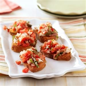 Bruschetta with Prosciutto Recipe