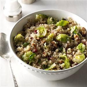 Brussels Sprouts & Quinoa Salad Recipe
