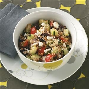 Bulgur Greek Salad Recipe