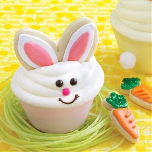 Bunny Carrot Cakes & Cookies Recipe