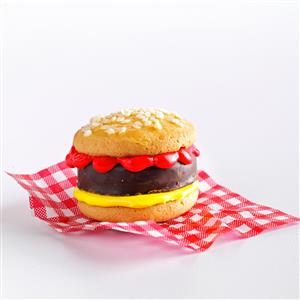 Burger Cookies Recipe