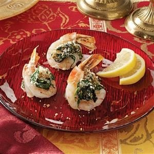 Butterflied Shrimp Rockefeller Recipe