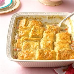 Buttermilk Biscuit Ham Potpie Recipe