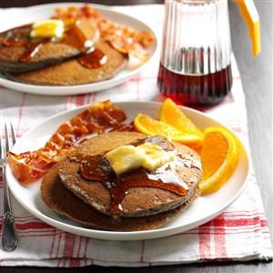Buttermilk Buckwheat Pancakes Recipe