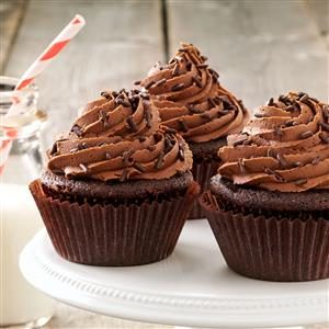 Buttermilk Chocolate Cupcakes Recipe