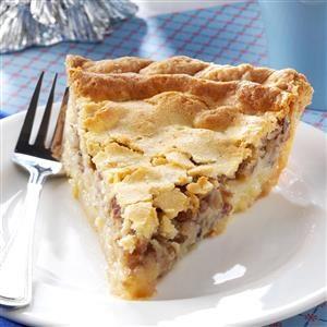 Buttermilk Pie with Pecans Recipe