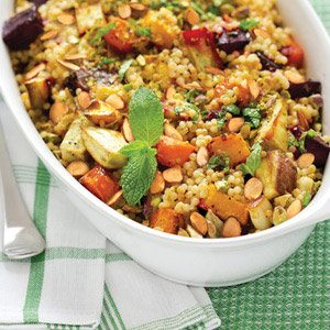 Butternut Squash & Cranberry Couscous Recipe