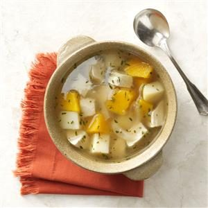 Butternut Turkey Soup Recipe