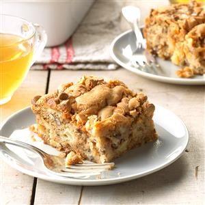 Butterscotch Apple Cake Recipe