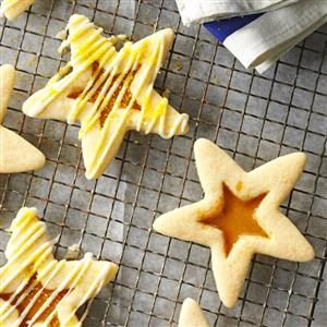 Butterscotch Eggnog Stars Recipe