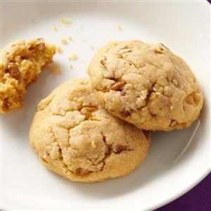 Butterscotch Pecan Cookies Recipe