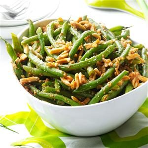 Buttery Almond Green Beans Recipe