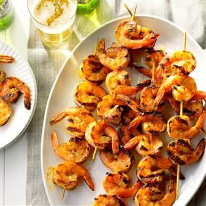 Buttery Grilled Shrimp Recipe