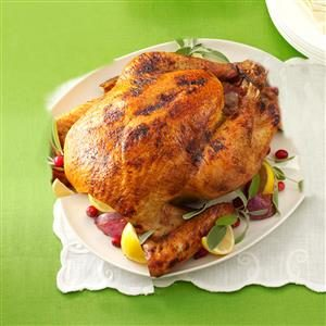 Buttery Lemon Turkey