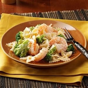 Caesar Shrimp and Pasta Recipe