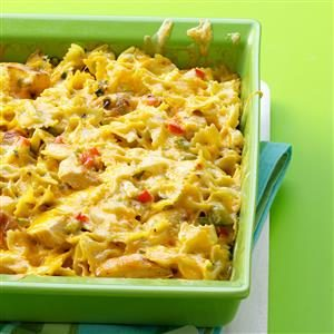 Cajun Chicken Pasta Bake Recipe
