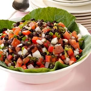 Calico Black Bean Salad Recipe